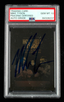 Miky Tyson Signed 1992 Kayo Holograms #10 Holyfield / Tyson (PSA Encapsulated) at PristineAuction.com