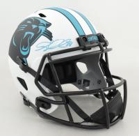 Greg Olsen Signed Panthers Full-Size Lunar Eclipse Alternate Speed Helmet (Beckett Hologram) at PristineAuction.com