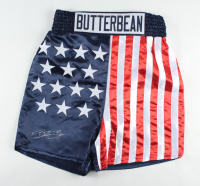 """Eric """"Butterbean"""" Esch Signed USA Boxing Trunks (TriStar Hologram) at PristineAuction.com"""