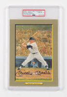 Mickey Mantle Signed LE 1985-97 Perez-Steele Great Moments #19 (PSA Encapsulated) at PristineAuction.com
