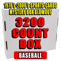 3200 Count Box - 1970's-2000's Sportscards Mystery Box  – BASEBALL EDITION at PristineAuction.com