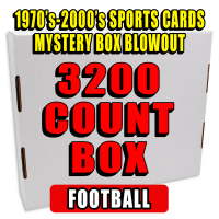 3200 Count Box - 1970's-2000's Sportscards Mystery Box  – FOOTBALL EDITION at PristineAuction.com