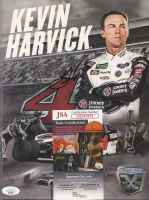 Kevin Harvick Signed NASCAR 8x10 Photo (JSA COA) at PristineAuction.com