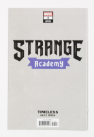 """2020 """"Strange Academy"""" Issue #4 Variant Cover Marvel Comic Book (See Description) at PristineAuction.com"""