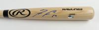 Ronald Acuna Jr. Signed Rawlings Pro Baseball Bat (Beckett Hologram) at PristineAuction.com