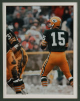Bart Starr Signed 32x36 Custom Framed Cut Display with Super Bowl I Pin (PSA) (See Description) at PristineAuction.com