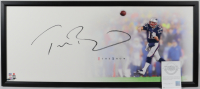 Tom Brady Signed Patriots 20x46 Custom Framed Photo Display (UDA COA) at PristineAuction.com