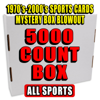 5000 Count Box - 1970's-2000's Sportscards Mystery Box  – ALL SPORT MIXED EDITION at PristineAuction.com