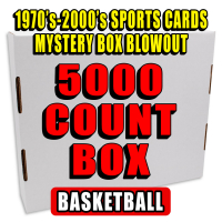 5000 Count Box - 1970s-2000s Sportscards Mystery Box – Basketball Edition at PristineAuction.com