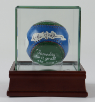 Eddie Vedder Signed Hand-Painted Baseball with High-Quality Display Case (JSA LOA) at PristineAuction.com