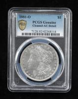 1881-O Morgan Silver Dollar (PCGS AU Details) at PristineAuction.com