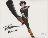 "Brian Donovan Signed ""Naruto"" 8x10 Photo Inscribed ""Rock Lee"" (PSA COA) at PristineAuction.com"
