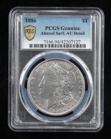1886 Morgan Silver Dollar (PCGS AU Details) at PristineAuction.com
