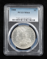 1888 Morgan Silver Dollar (PCGS MS64) at PristineAuction.com