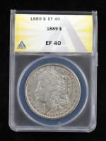 1889 Morgan Silver Dollar (ANACS XF40) at PristineAuction.com