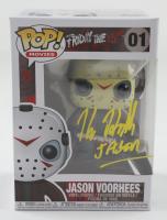 "Kane Hodder Signed ""Friday The 13th"" #1 Jason Voorhees Funko Pop! Vinyl Figure Inscribed ""Jason"" (Beckett Hologram) (See Description) at PristineAuction.com"