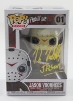 "Kane Hodder Signed ""Friday The 13th"" #1 Jason Voorhees Funko Pop! Vinyl Figure Inscribed ""Jason"" (Beckett Hologram) at PristineAuction.com"