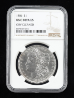 1886 Morgan Silver Dollar (NGC UNC Details) at PristineAuction.com