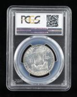 1955 Franklin Silver Half Dollar (PCGS MS64) at PristineAuction.com