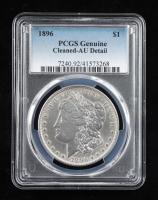 1896 Morgan Silver Dollar (PCGS AU Details) at PristineAuction.com