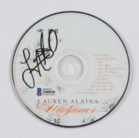 "Lauren Alaina Signed ""Wildflower"" CD (Beckett COA) at PristineAuction.com"