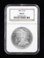 1881-S Morgan Silver Dollar (NGC MS63) at PristineAuction.com