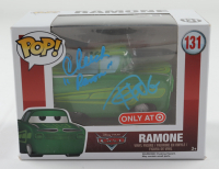 """Cheech Marin & Tommy Chong Signed """"Cars"""" #131 Ramone Funko Pop! Vinyl Figure Inscribed """"Ramone"""" (Beckett Hologram) at PristineAuction.com"""