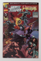 """David Wohl Signed Devils Reign 1997 """"1/2 Silver Surfer / Witchblade"""" Issue #1 Wizard / Marvel Comic Book (JSA COA) at PristineAuction.com"""