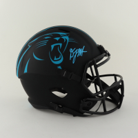 D. J. Moore Signed Panthers Full-Size Eclipse Alternate Speed Helmet (Beckett Hologram) at PristineAuction.com