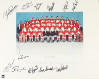 Team Canada 1972 Summit Series 16x20 Photo Signed By (12) With Phil Esposito, Stan Mikita, Paul Henderson, Peter Mahovlich, Brad Park (COJO COA) at PristineAuction.com