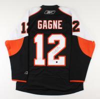 Simon Gagne Signed Flyers Jersey (COJO COA) (See Description) at PristineAuction.com