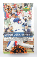 2003 Upper Deck Series 1 Baseball Hobby Box with (24) Packs at PristineAuction.com