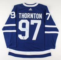 Joe Thornton Signed Maple Leafs Jersey (COJO COA) at PristineAuction.com
