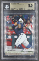 Ronald Acuna Jr. 2018 Topps Now #125 RC /11131 (BGS 9.5) at PristineAuction.com