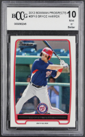 Bryce Harper 2012 Bowman Prospects #BP10 RC (BCCG 10) at PristineAuction.com