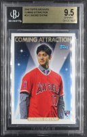 Shohei Ohtani 2018 Topps Archives Coming Attraction #CA1 RC (BGS 9.5) at PristineAuction.com