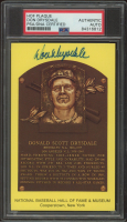 Don Drysdale Signed Hall of Fame Plaque Postcard (PSA Encapsulated) at PristineAuction.com