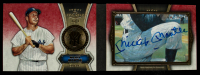 Mickey Mantle 2012 Topps Five Star Cut Signature Booklets #MM5 #1/1 at PristineAuction.com