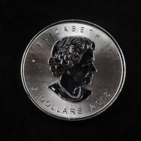 2015 Canada Elizabeth II $5 1 Oz. .999 Silver Dollar Coin at PristineAuction.com