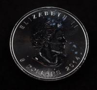2014 Canada Elizabeth II $5 1 Oz. .999 Silver Dollar Coin at PristineAuction.com