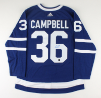 Jack Campbell Signed Maple Leafs Jersey (COJO COA) at PristineAuction.com
