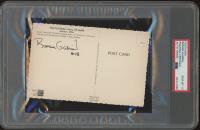 Roman Gabriel Signed Vintage Hall of Fame 4x6 Postcard (PSA Encapsulated) at PristineAuction.com