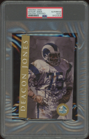 """Deacon Jones Signed Hall of Fame Signature Series Card Inscribed """"HOF 80"""" (PSA Encapsulated) at PristineAuction.com"""