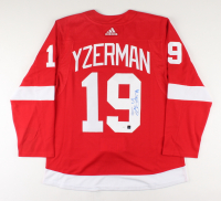 Steve Yzerman Signed Red Wings Captain Jersey (JSA COA & COJO COA) at PristineAuction.com