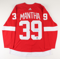 Anthony Mantha Signed Red Wings Jersey (COJO COA) at PristineAuction.com