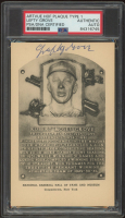 Lefty Grove Signed Hall of Fame Plaque Postcard (PSA Encapsulated) at PristineAuction.com