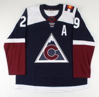 Nathan MacKinnon Signed Avalanche Jersey (COJO COA) at PristineAuction.com