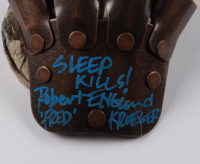 "Robert Englund Signed ""A Nightmare on Elm Street"" Freddy Krueger Replica Glove Inscribed ""SLEEP KILLS!"" ""Fred Kreuger"" (Beckett Hologram) at PristineAuction.com"