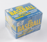 1990 Fleer Baseball Update Card Box Set with (132) Cards at PristineAuction.com