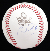 Carlos Correa Signed 2017 World Series Baseball (JSA COA) (See Description) at PristineAuction.com